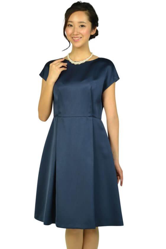 ニジュウサンク (23区)上質シンプルネイビードレス
