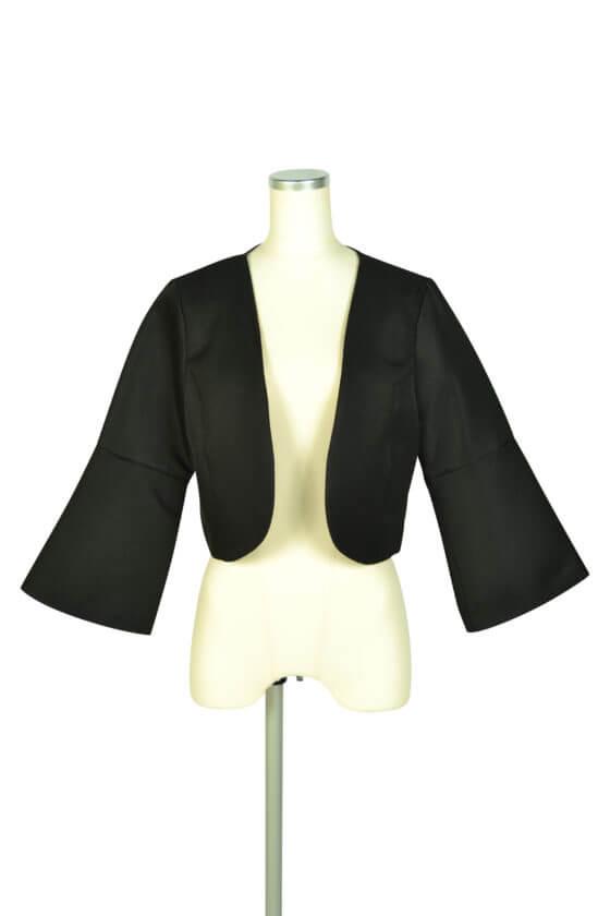 アイアム (I am...)ベル袖ブラックジャケット
